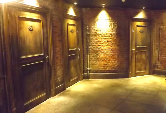 Panelled Doors at the Hippodrome Casino, London