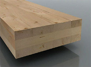 Laminated Timber Sections are faced with either MDF or Ply