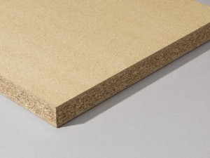 Solid Particleboard Core has 3 layers of varying density to which facings are bonded